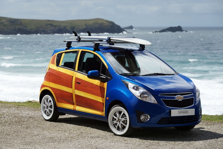 2010 Paris Auto Show: Chevrolet Spark Woody