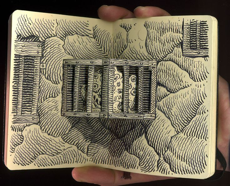 moleskines | Libri tridimensionali rivisitati