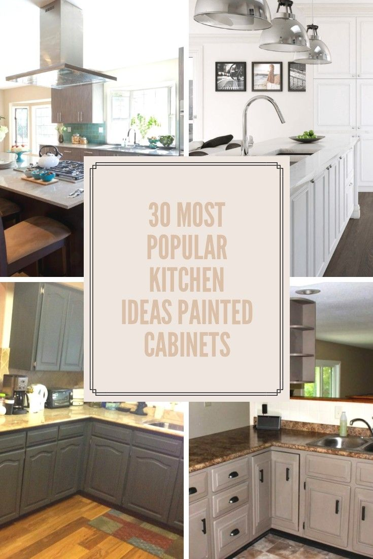 Sensational 30 Most Popular Kitchen Ideas Painted Cabinets Kitchen Interior Design Ideas Inamawefileorg