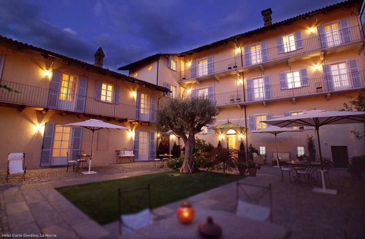 Hotel Corte Gondina, La Morra, Piedmont, Italy Project by Studio Boglietti www.studioboglietti.com
