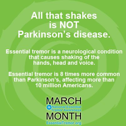 Essential Tremor and Shaking