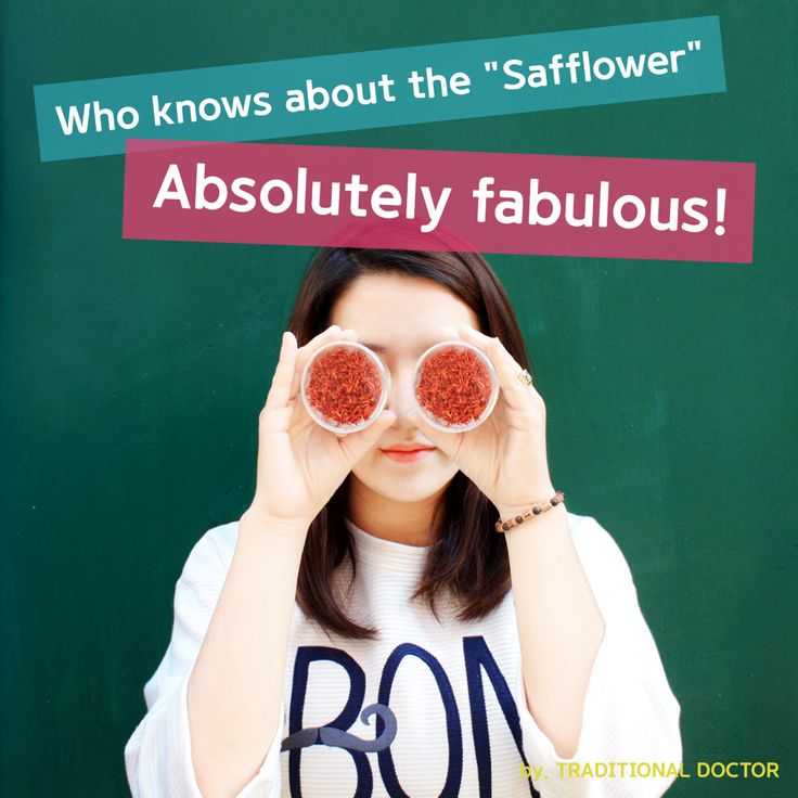"""Who knows about the """"Safflower"""" Absolutely fabulous!"""