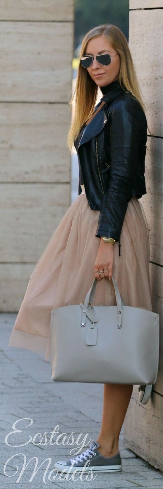 Tulle Skirt // Fashion Look by Style And Blog