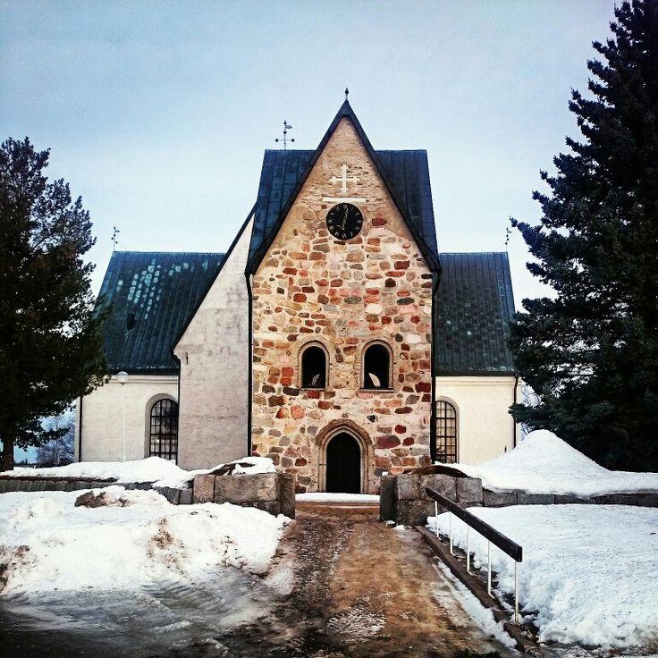 Kyrkan i Öjebyn
