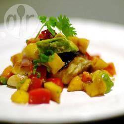 Salsasaus met mango en papaja recept - Recepten van Allrecipes