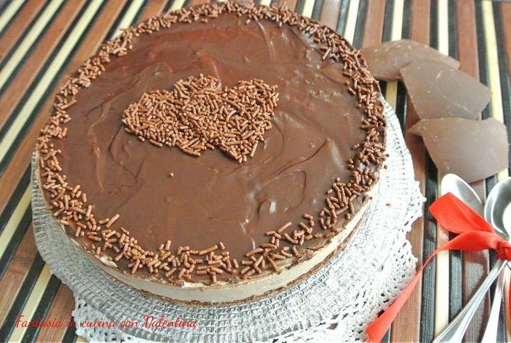 Cheesecake+al+cioccolato