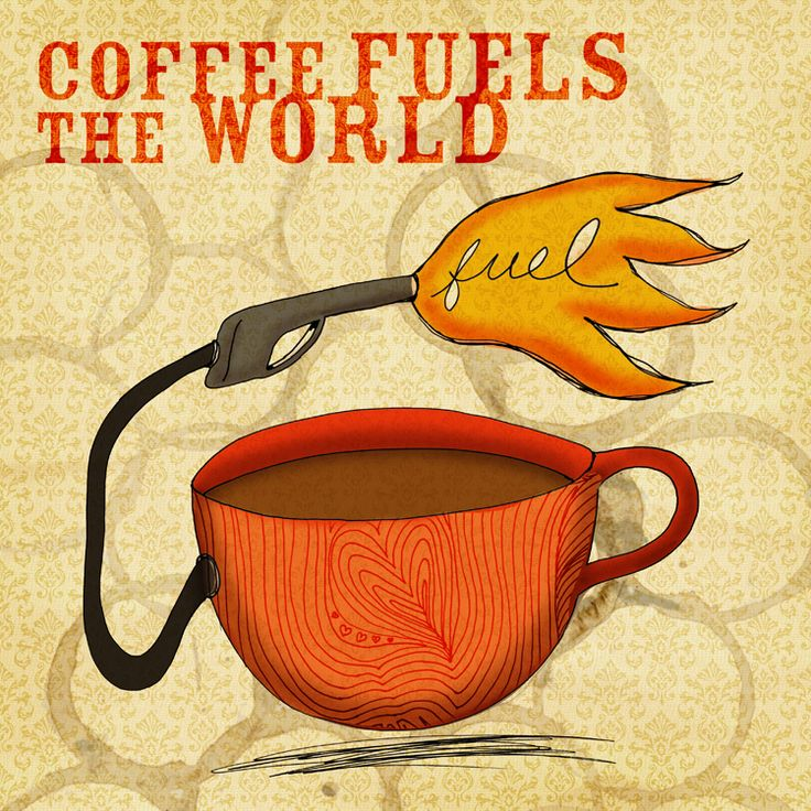 Coffee Fuels the world! What is your favorite fuel? What my #coffee says to me July 18