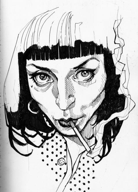 Léa Nahon - Sketches