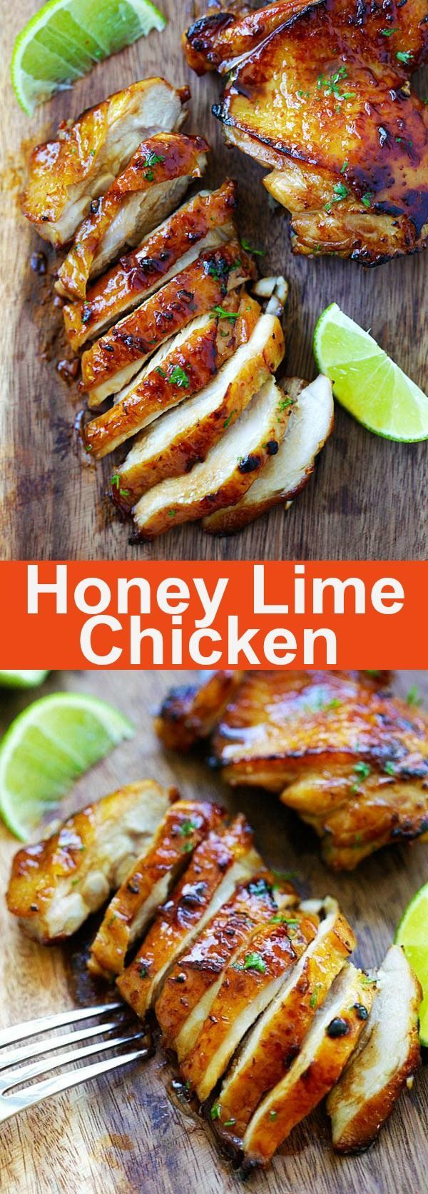 Honey Lime Chicken – crazy delicious chicken with honey lime. The BEST chicken that you can make for your family, takes only 20 mins | rasamalaysia.com