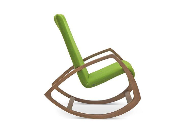 Gemütlicher Schaukelsessel im auffälligen, innovativen Design. #schaukelsessel #design #sessel #kaufen