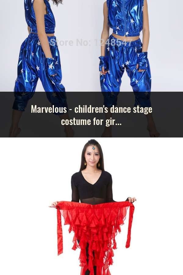 aaa0d0784 children s dance stage costume for girls modern kids jazz dance ...