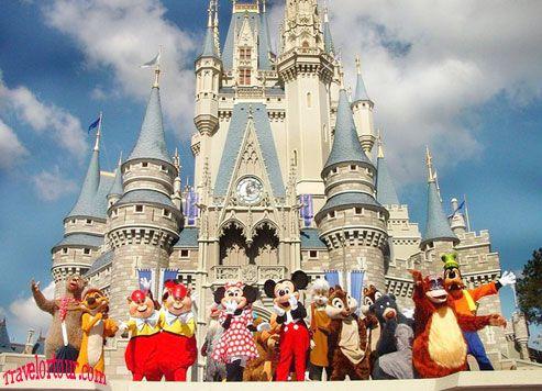 Disneyland Paris An Exciting Amusement Park Popular