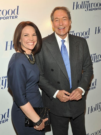 Erica Hill and Charlie Rose