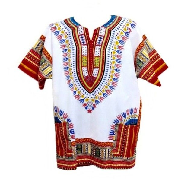 Men's Dashiki Shirt African Shirt Caftan Kaftan Ethic Large Size... ($15) ❤ liked on Polyvore featuring men's fashion, men's clothing, men's shirts, shirts, men's apparel, mens white shirts, african mens clothing, mens clothing and mens red shirt