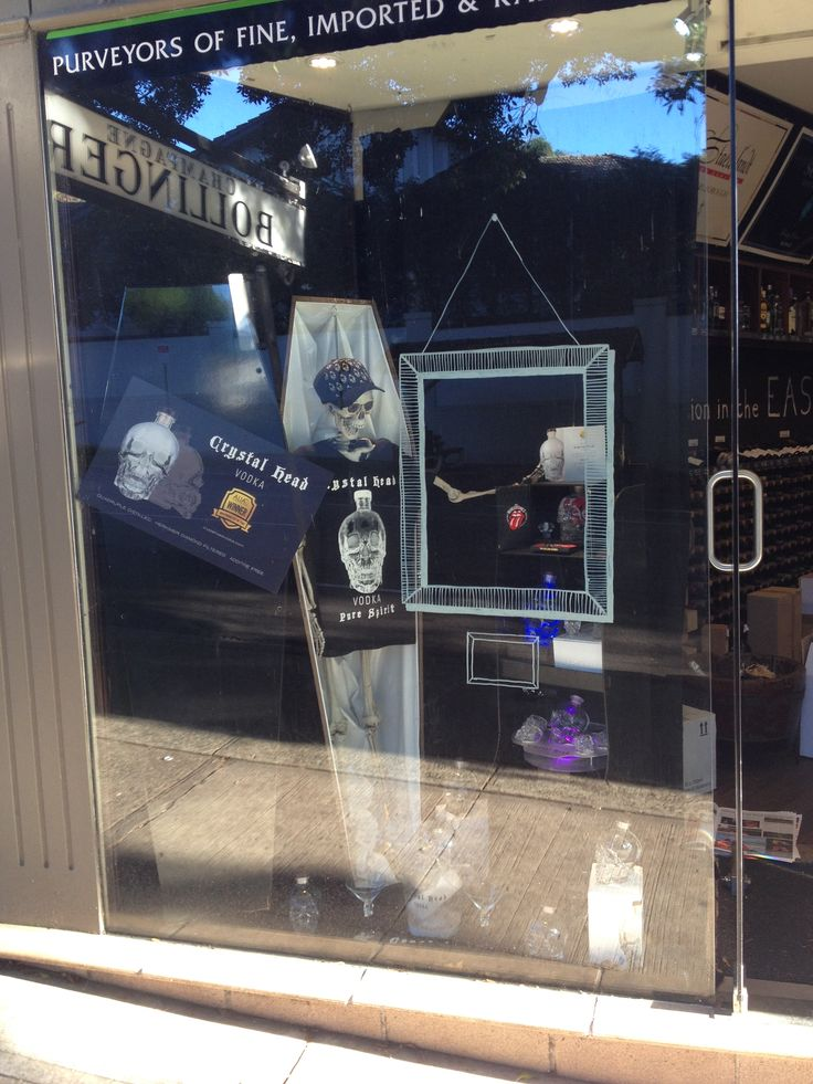 Our current window display. Pretty nifty!