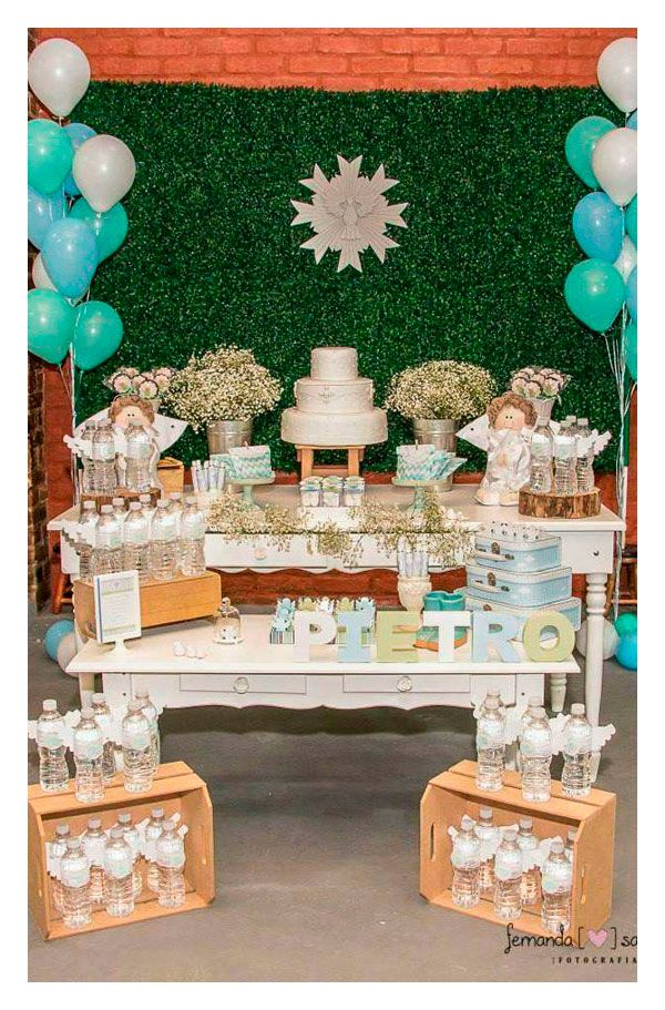19 best fiesta de bautizo images on pinterest - Que se necesita para una fiesta infantil ...