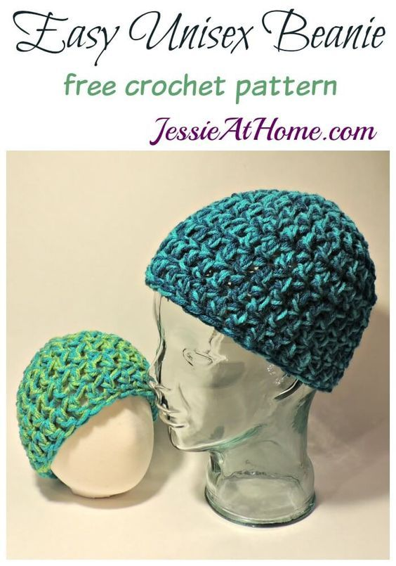 easy-unisex-beanie-free-crochet-pattern-by-jessie-at-home: