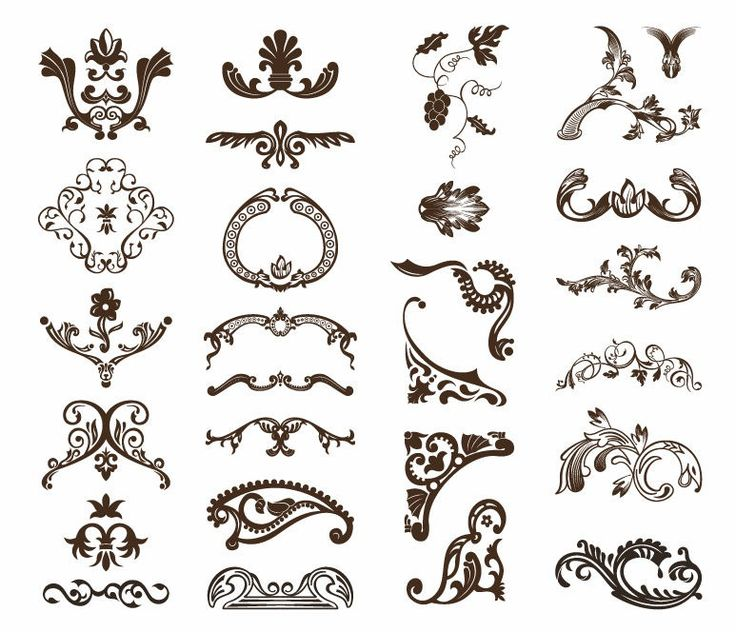 17 Best images about ornamentos on Pinterest | Baroque, Vector ...
