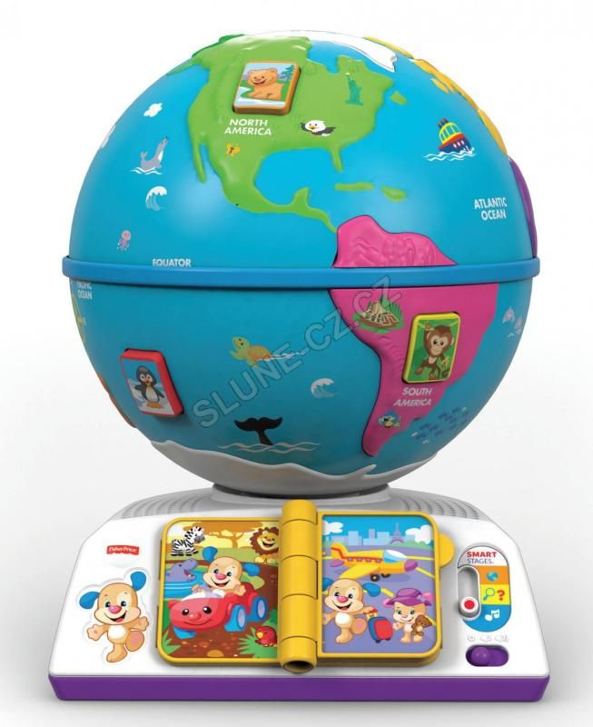 Fisher-Price Smart Stages Globus CZ