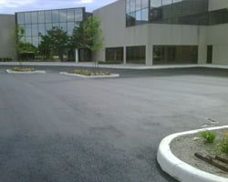 Concrete is one of the most important construction materials used in site structures, including parking lots, walkways, curbs, dumpster pads, parking bumpers, catch basins, and ramps. Many of these structures are designed for foot traffic. Liability becomes an issue when asphalt surfaces become cracked and uneven, or start to spall.