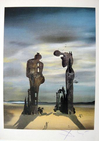 """Salvador Dali, signed Print """"Dali De Gala"""""""