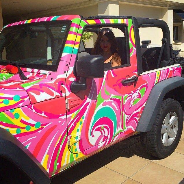 Beveling Brunette: Lovely Lilly #blog #LillyPulitzer #Jeep #Shop
