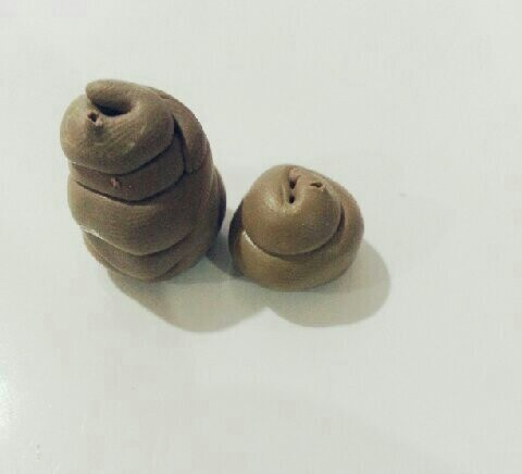 from Polymer Clay.POOP!