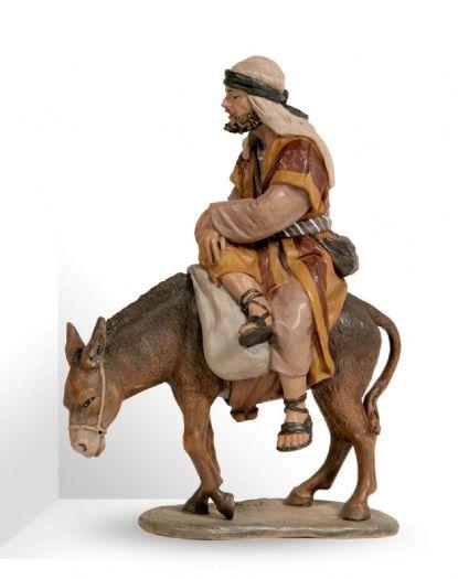 Bambalina - 1410 GRUPO ARRIERO MONTADO - JOSE LUIS MAYO - NAVIDAD - FIGURAS BELEN DE JOSE LUIS MAYO LEBRIJA