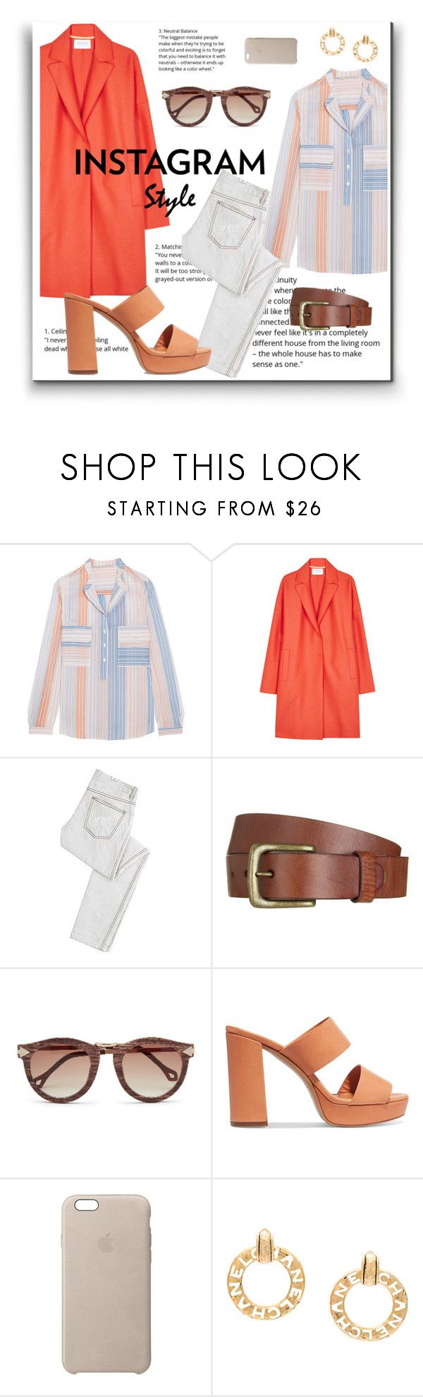 """""""insta-ready"""" by heloisacintrao ❤ liked on Polyvore featuring STELLA McCARTNEY, Harris Wharf London, McQ by Alexander McQueen, Will Leather Goods, Mansur Gavriel, Apple, Chanel, instagram, 60secondstyle and PVShareYourStyle"""