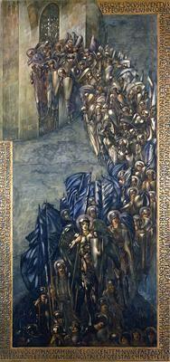 The Fall of Lucifer by Sir Edward Burne-Jones :: artmagick.com