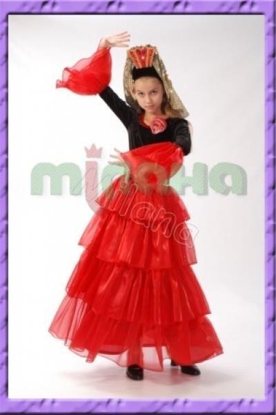 Карнавальные костюмы испанки