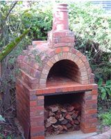 Outdoor Brick Oven, Great for Pizza, Breads and Meats - From Glenthompson Bricks