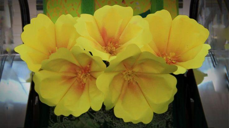 Vamos aprender a fazer estas lindas flores de papel. Lindas ideias e muita inspiração! Bjs, Fabiola Teles. ...