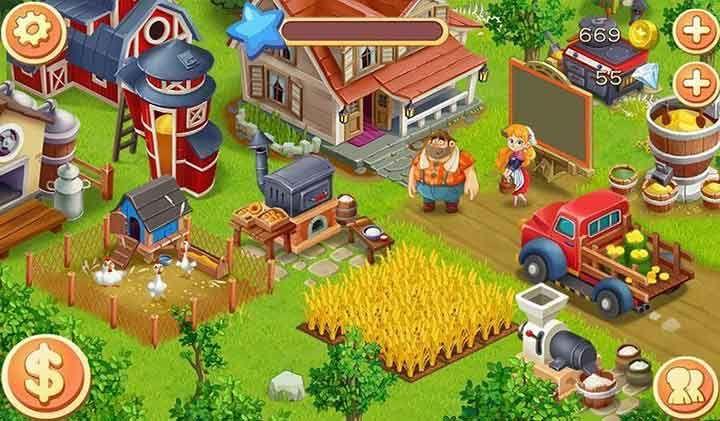 Vuoi giocare a fare il contadino sai che è un lavoro molto duro per questa volta lo fai da seduto ecco i migliori 5 giochi fattoria gratis per Android .