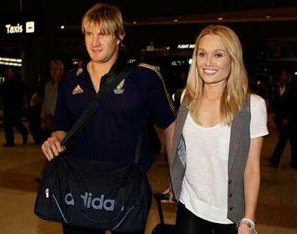 Shane watson & his wife