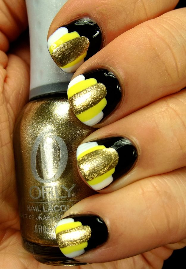"26 Gorgeous ""Great Gatsby"" Inspired Manicures (most of them are 'meh' but not bad)"
