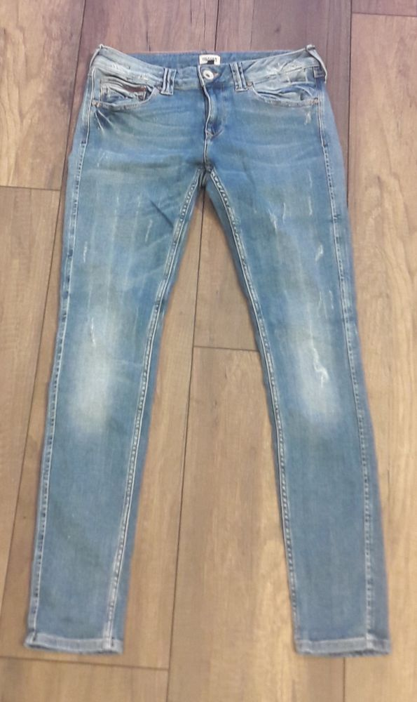 Tommy Hilfiger Jeans Damen Skinny Used Look Distressed Sophie NEU Weite 31 L 32