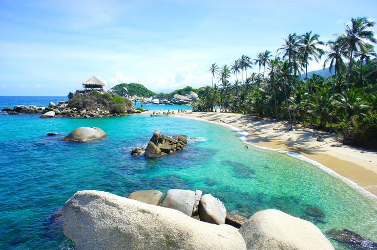 Tayrona Park kolumbienblog.com.......The Tayrona Park is probably one of the most famous sights in Colombia. And this has a reason. Tayrona consist of some of the most beautiful beaches in Latin America and amazing nature.#tayrona #santamarta