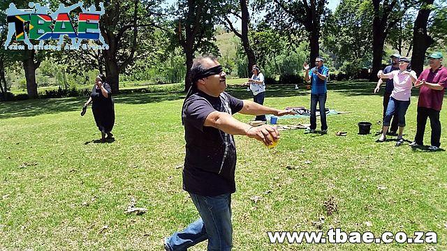 Blind Retriever Team Building Exercise #teambuilding #tbae #blindretriever