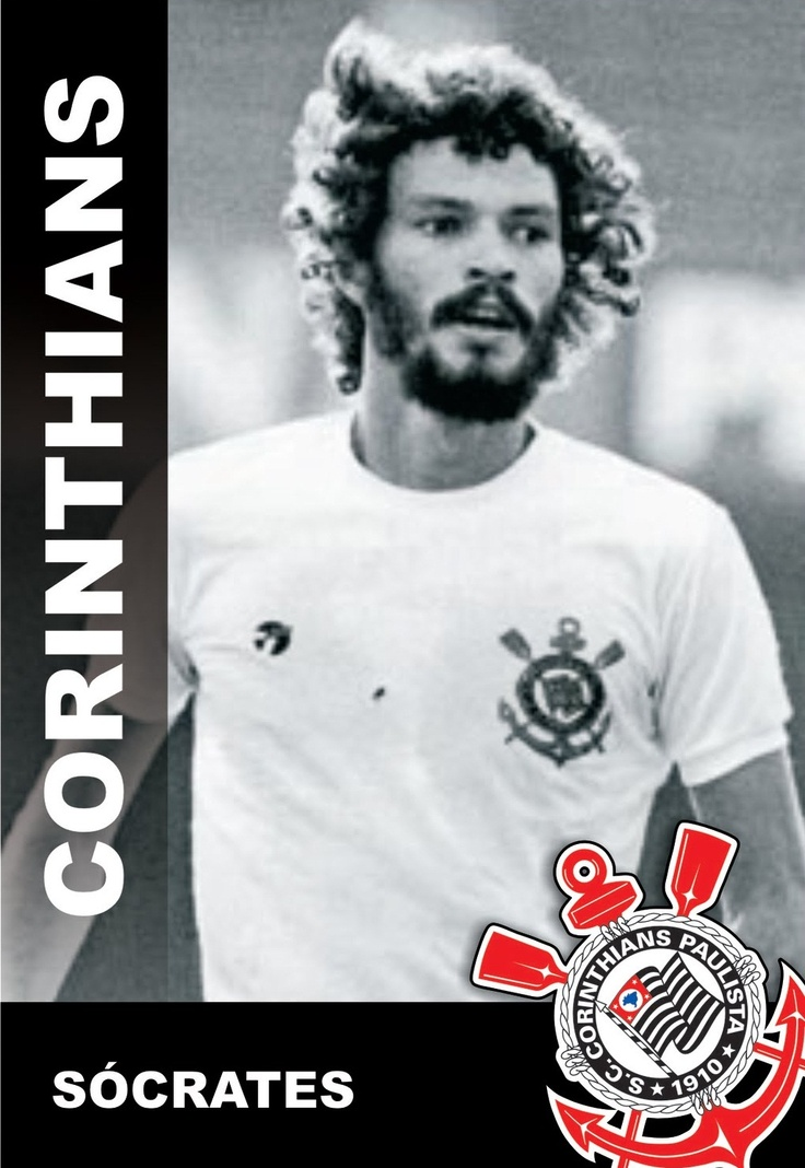 Jogador Socrátes do Corinthians