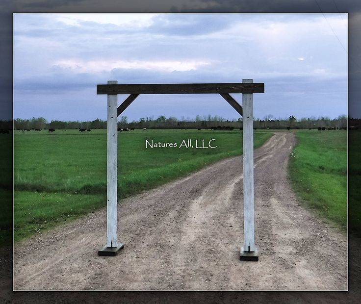 Rustic Wood Wedding Arch Arbor Kit For Indoors Or Outdoors Country