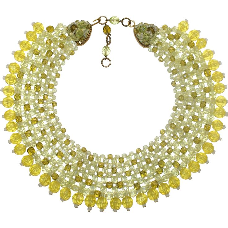 Coppola e Toppo Yellow Collar Necklace