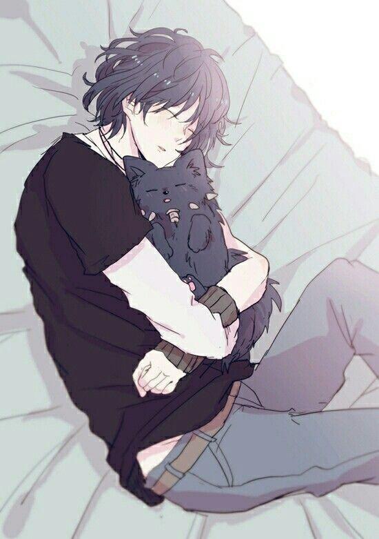Картинки аниме парни спокойные