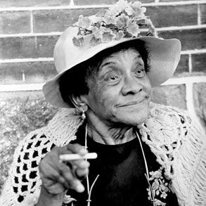 "March 19, 1894 Loretta Mary Aiken (Jackie ""Moms"" Mabley), stand-up comedienne, was born in Brevard, North Carolina.  At the age of 15, Mabley ran away to Cleveland, Ohio with a travelling minstrel show where she began singing and entertaining.By the 1950s, she was one of the top women doing stand-up and earning $10,000 per week at the Apollo Theater."