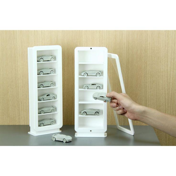 直式壓克力相框模型小物收納盒  - Vertical Acrylic Model Display Case by SO+FUN design