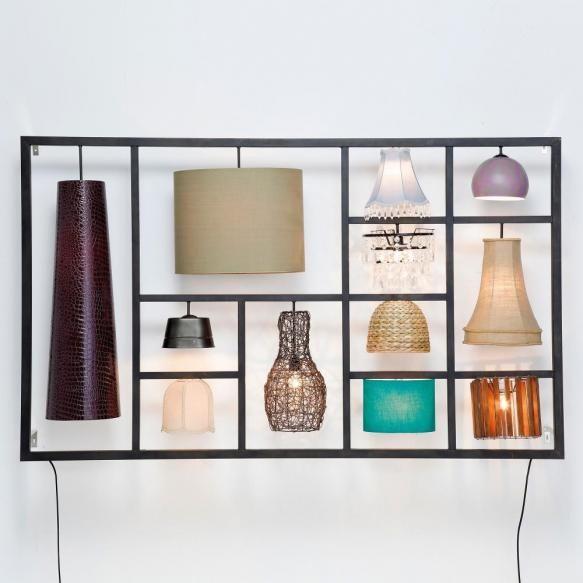 Aplice Un mix de stiluri forme si materiale pentru un sistem de iluminat indraznet. O aplica formata din 12 alte aplice. Ca o opera de arta, punerea...