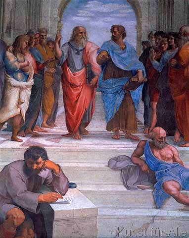 Raffael - Die Schule von Athen