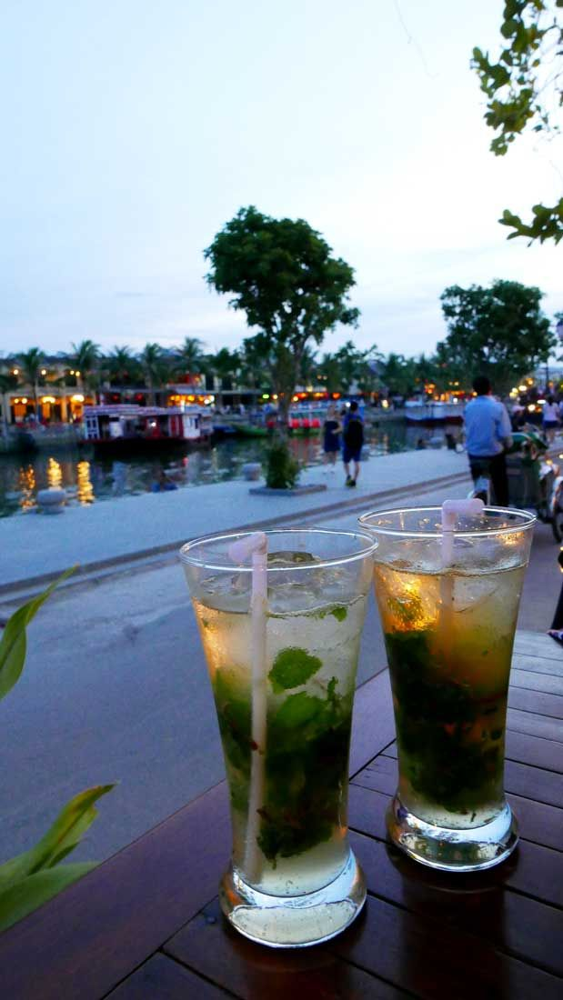 Happy Hour by the harbour of Hoi An, Vietnam - can't get better than that