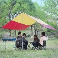 300cm x 300cm x 205cm Outdoor EZ Up Anti UV Canopies Cover Sun Shelter Awning