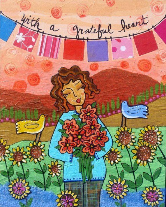 Etsy Lori Portka: Happiness through Art